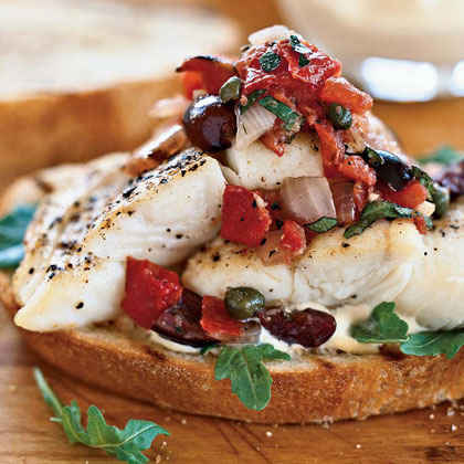 Our best recipes for grilled fish myrecipes for Fish sandwich recipe