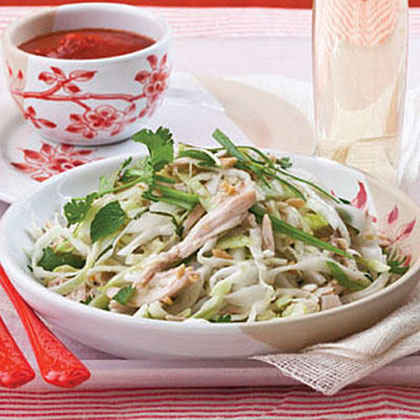 Rice-Noodle Salad with Chicken and Herbs