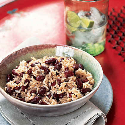 Classic Jamaican Rice and Peas
