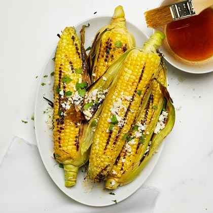 Grilled Oaxacan Corn