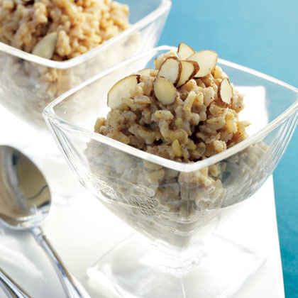 Maple Brown Rice Pudding