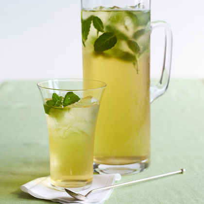 Minty Iced Green Tea