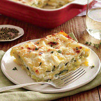 Light Lasagna Made With Turkey And Veggies Recipes — Dishmaps