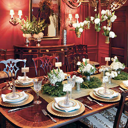 Christmas Table Settings Myrecipes