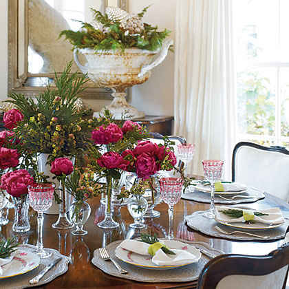 Perfectly Pink Table Setting