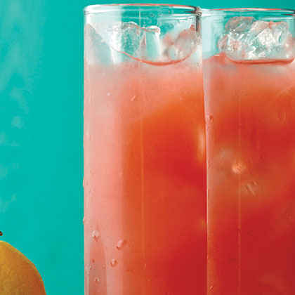 Raspberry-Peach Lemonade