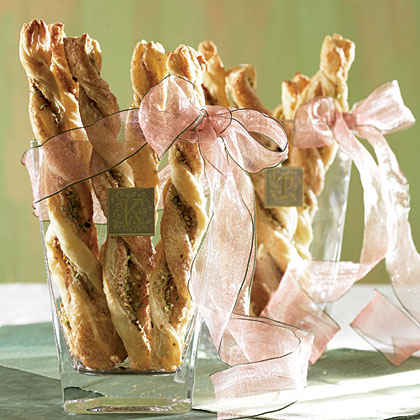 Pistachio Pastry Twists