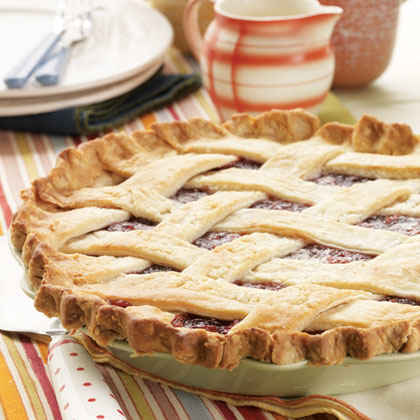 Christmas Cherry-Berry Pie