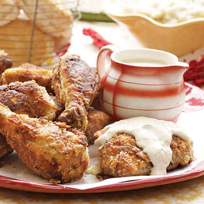 Fried Chicken and Milk Gravy