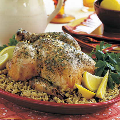 "Lemony ""Baked"" Chicken"