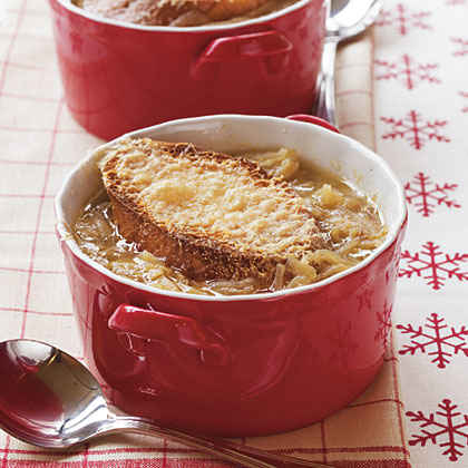Parmesan-Onion Soup
