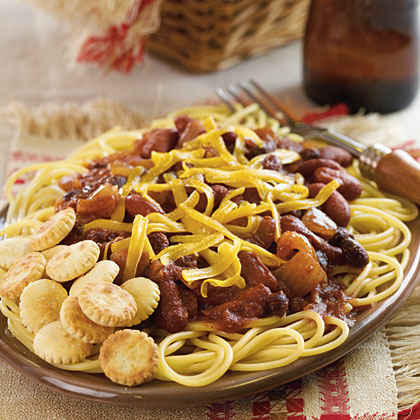 Vegetarian Cincinnati Chili