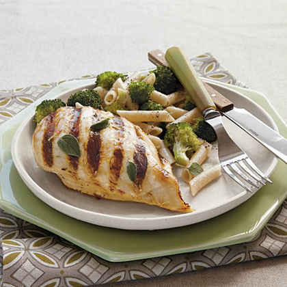 Lemon-Chardonnay Grilled Chicken