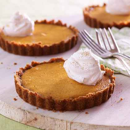 Orange Pumpkin Tarts