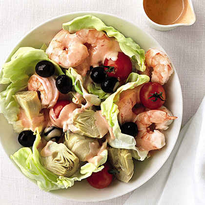 Shrimp, Artichoke, and Olive Salad