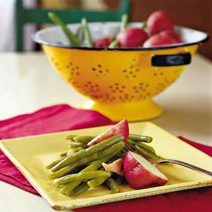 Green Beans and Red Potatoes