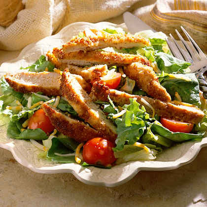 Salad with chicken recipe easy