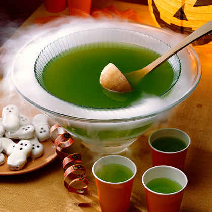Halloween punch recipes ideas party punches myrecipes for Halloween alcoholic punch bowl recipes