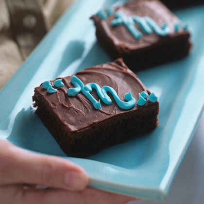 Dr. Seuss's ABC: Monogrammed Jumbo Brownies