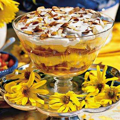 Georgia Peach Trifle
