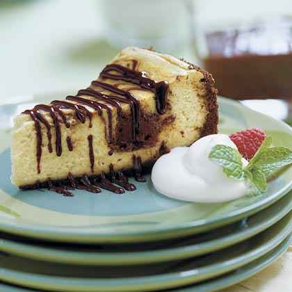 Chocolate-Coffee Cheesecake