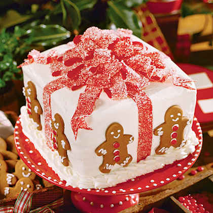 Christmas cake ideas recipes myrecipes for Christmas cake gift