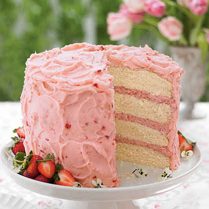 Southern Living Strawberry Mousse Cake