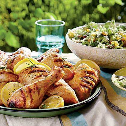 Buttermilk-Brined Grilled Chicken