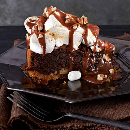 Mississippi Mud S'Mores Pie