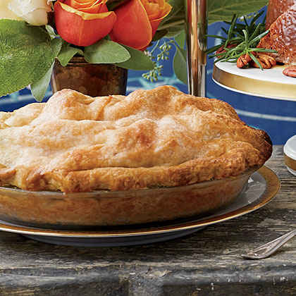 Apple, Pear, and Cranberry Pie