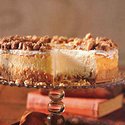 Showstopping Holiday Cheesecakes | MyRecipes