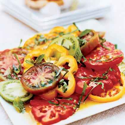 Tomatoes and Sauvignon Blanc