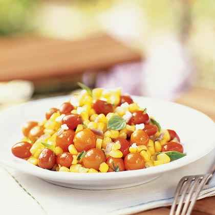 Corn and Tomato Salad