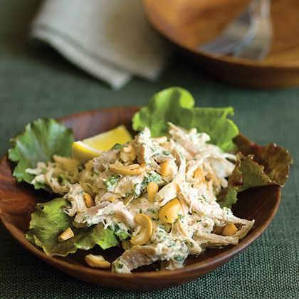 Lemon Cashew Chicken Salad