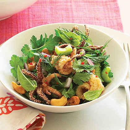 red chile sauce and herbs recipes dishmaps quick squid with red chile ...