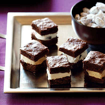 Brownie Ice Cream Mini-wiches