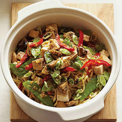 Leftover Turkey: Stir-Fry