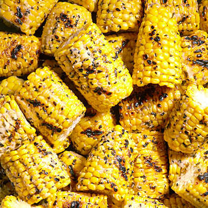 Grilled Corn Cobettes