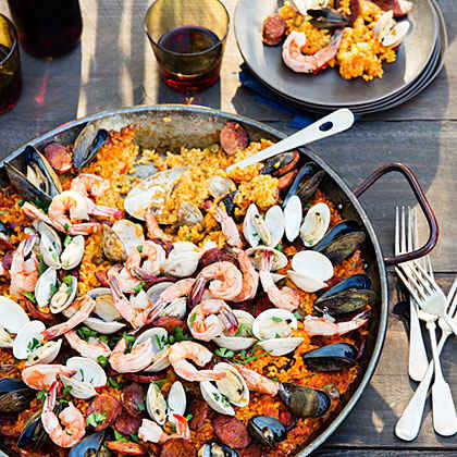 Grilled seafood appetizers myrecipes for What to serve at a bbq birthday party