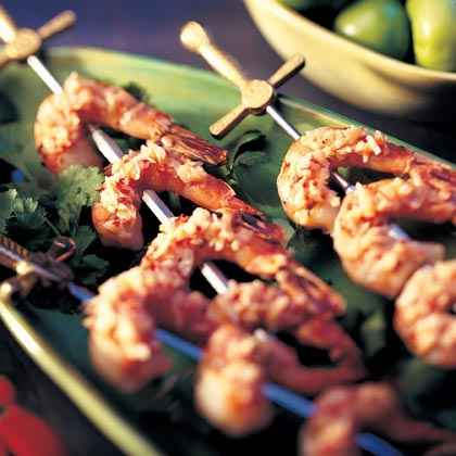 Indonesia: Javanese Sambal with Grilled Shrimp