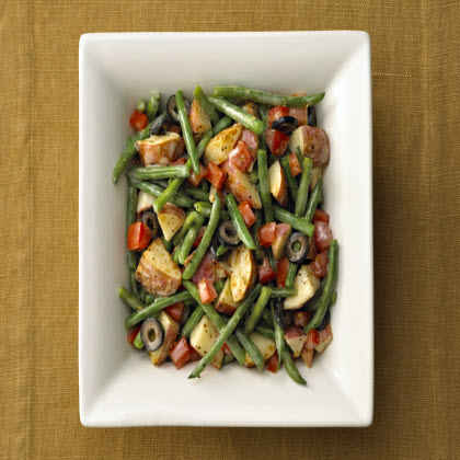 Birds Eye® Garlic Parmesan Potatoes & Green Beans with Tomatoes