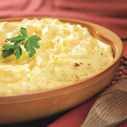 Make-Ahead Party Mashed Potatoes
