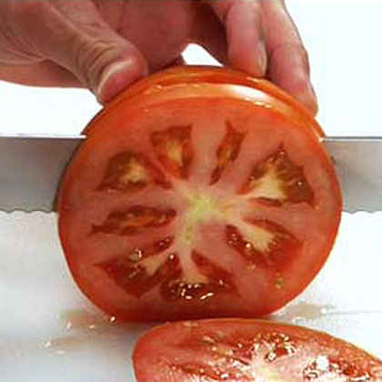 Slicing and Chopping Tomatoes