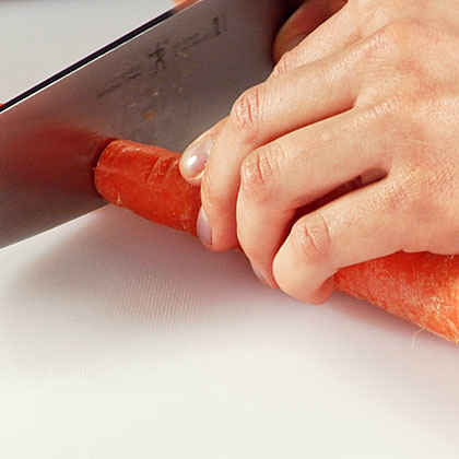 How to Slice and Dice Carrots