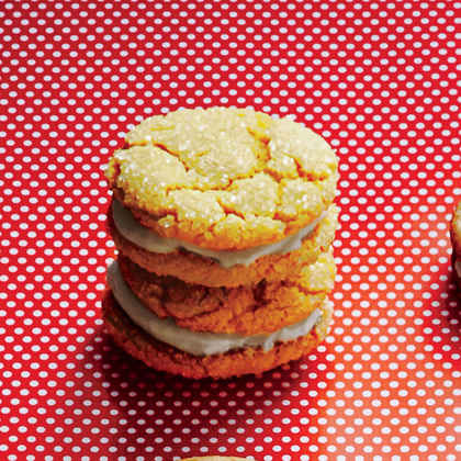 Lemony Sandwich Cookies