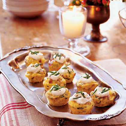 Mini Bacon and Potato Frittatas