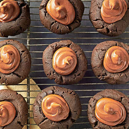 Nutty Chocolate Thumbprints