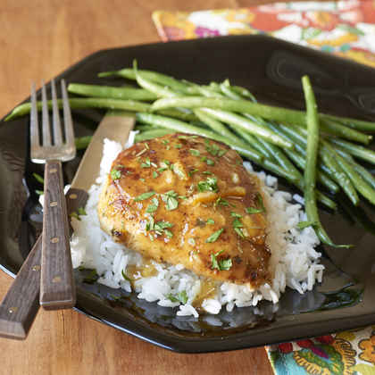 Orange-Sauced Chicken