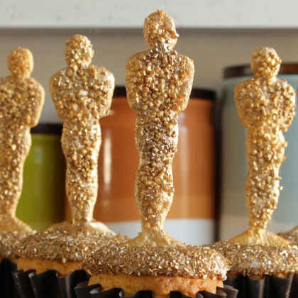Oscar Awards Cupcakes