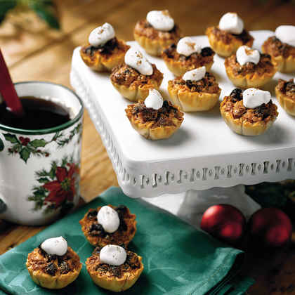 Pecan-Raisin Mini Tarts